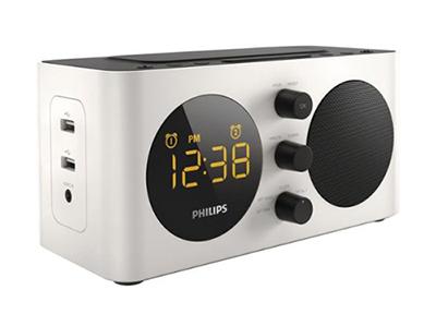 philips aj6000 double alarme batterie de secours
