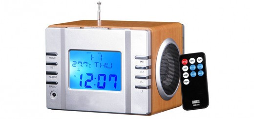 august MB300 radio reveil test