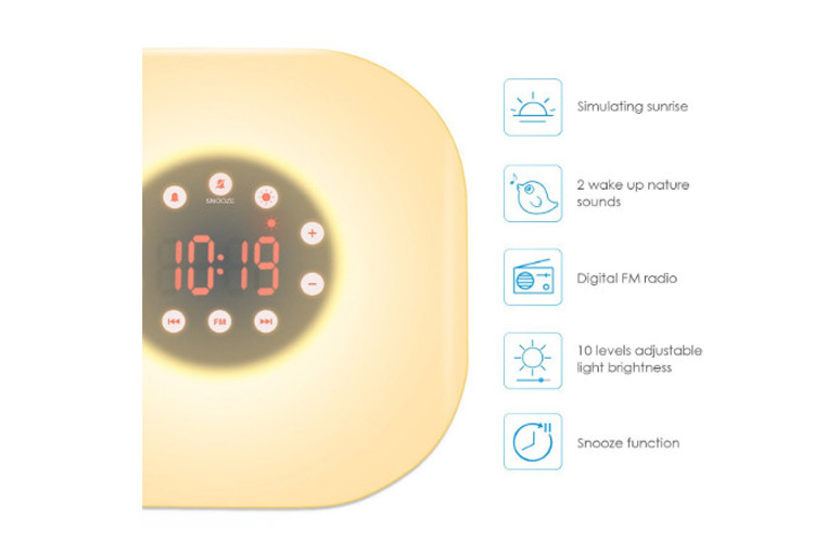 AMIR UF20 Wake-Up Light avis