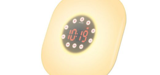 AMIR UF20 Wake-Up Light radio reveil